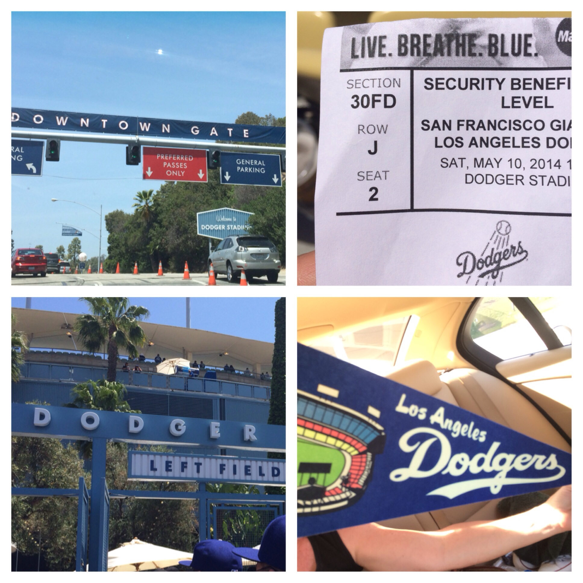 Dress Code: Feeling kind of blue… Dodger blue! | The Principal of ...